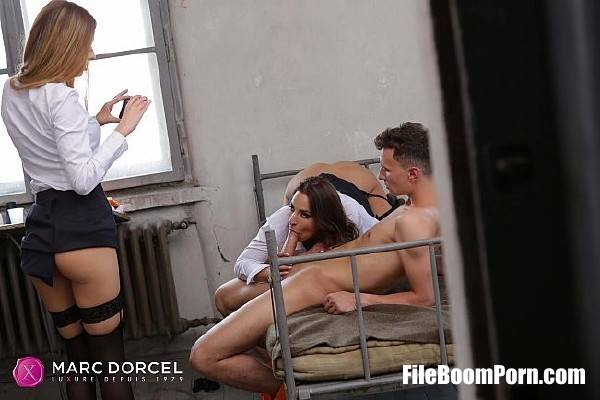 Amirah Adara, Rebecca Volpetti - Two warden share a prisoner (SD/400p/213 MB) DorcelClub