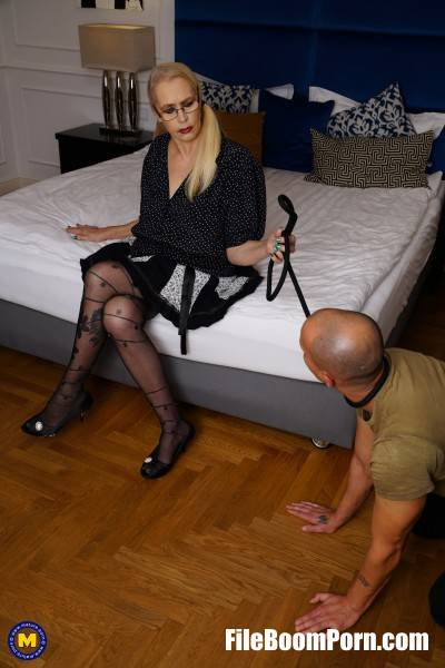 Celeste 51 - Kinky mature lady doing her submissive toyboy with a strapon (FullHD/1080p/1.55 GB) Mature.nl