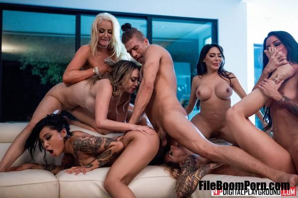 Nicolette Shea, Quinn Wilde, Honey Gold, Karmen Karma, Kissa Sins, Lela Star - Greedy Bitches (HD/720p/1.02 GB) DigitalPlayground