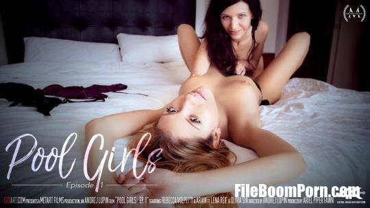 SexArt: Rebecca Volpetti, Arian, Lena Reif, Olivia Sin - Pool Girls: Ep. 1 [SD/360p/297 MB]