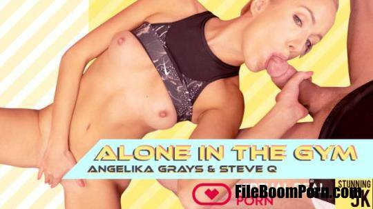 VirtualRealPorn: Angelika Grays - Alone in the gym [UltraHD 4K/2160p/6.04 GB]