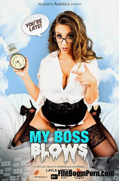NaughtyAmericaVR: Layla London - My Boss Blows [FullHD/1080p/2.12 GB]