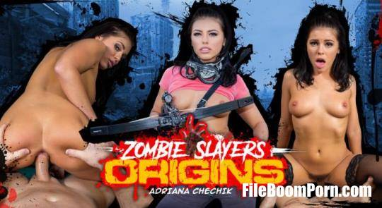 WankzVR: Adriana Chechik - Zombie Slayers: Origins [FullHD/1080p/4.36 GB]
