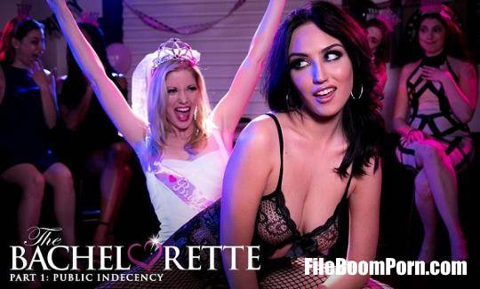 Girlsway, GirlsWay: Charlotte Stokely, Jade Baker - The Bachelorette 1: Public Indecency [FullHD/1080p/2.12 GB]