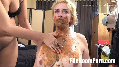 NewMFX, NewScatInBrazil: Milly, Nanda Bueno - My dome's delicious scat [FullHD/1080p/1.96 GB]