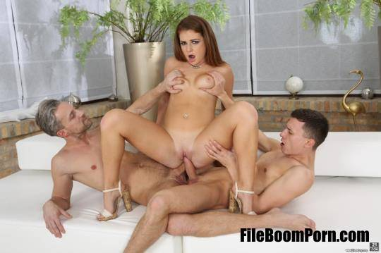 DPFanatics, 21Sextury: Mila A - Mila's First Threesome [FullHD/1080p/2.54 GB]