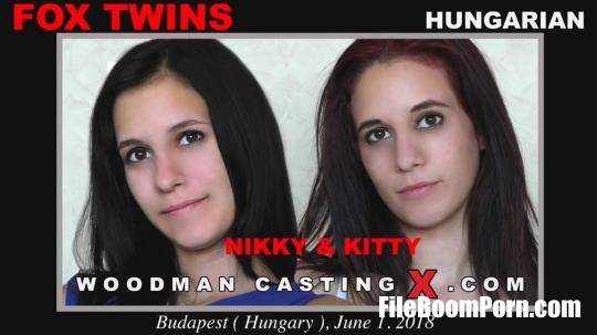 WoodmanCastingX: Kitty Fox, Nikky Fox - Fox Twins - Casting X 190 * Updated * [FullHD/1080p/5.48 GB]