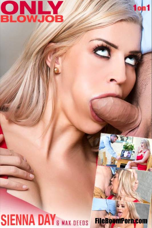 OnlyBlowJob, DDFNetwork: Sienna Day - Blondie Wants His Dick [FullHD/1080p/1.20 GB]