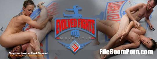 EvolvedFights: Cheyenne Jewel - Cheyenne Jewel vs Chad Diamond [SD/480p/1.11 GB]