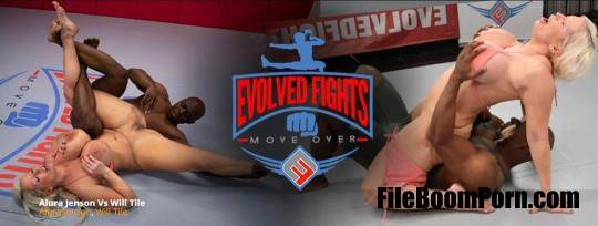 EvolvedFights: Alura Jenson - Alura Jenson vs Will Tile [FullHD/1080p/2.73 GB]