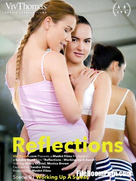 Alexis Crystal, Monica Brown - Reflections. Episode 1 - Working Up A Sweat (HD/720p/896 MB) MetArt