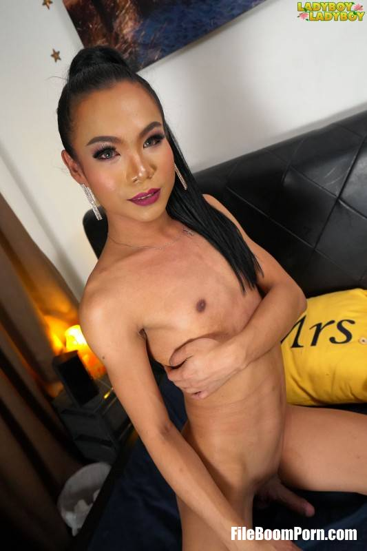 Ladyboy-Ladyboy: Java - Java Gets Horny On The Bed! [FullHD/1080p/927 MB]