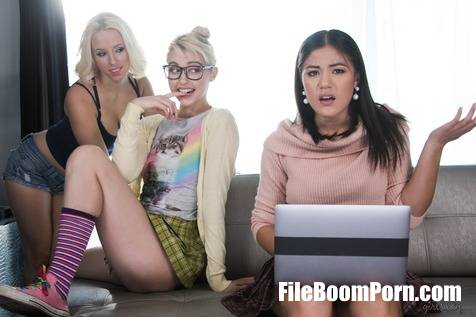 GirlsWay: Chloe Cherry, Kendra Spade, Aspen Romanoff - Nerds Rule!: The Finger Bang Theory [FullHD/1080p/1.99 GB]