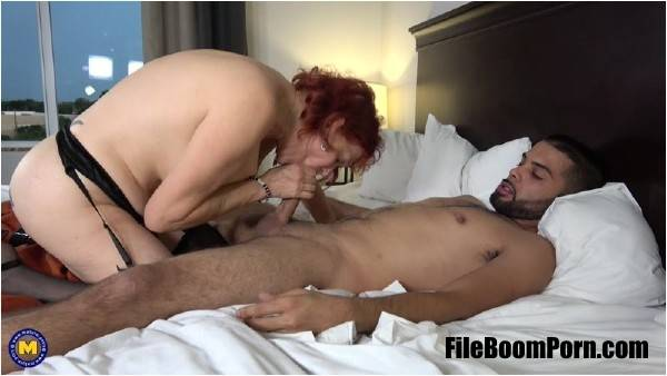 Angie Summers 59 - This naughty American Redhead grandma loves getting fucked in her ass by a toy boy (FullHD/1080p/1.59 GB) Mature.nl
