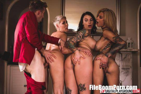DigitalPlayground: Bonnie Rotten, Ivy Lebelle, Ryan Keely - Save Our Souls [HD/720p/982 MB]