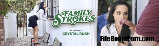 TeamSkeet, FamilyStrokes: Crystal Rush - Homegrown Horny [HD/720p/1.90 GB]
