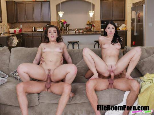 DaughterSwap, TeamSkeet: Alex Coal, Kimber Woods - Flu Shot Floozies [SD/480p/539 MB]