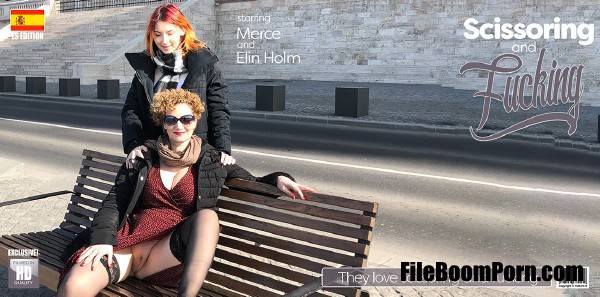 Elin Holm , Merce - Elin Holm And Merce Lesbians (FullHD/1080p/1.32 GB) Mature.nl