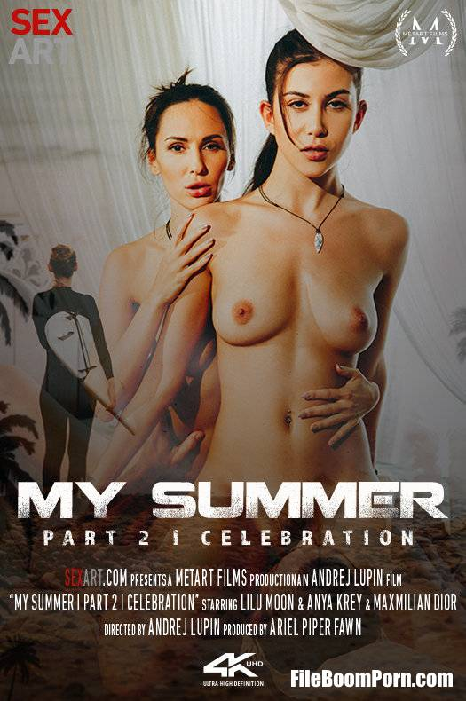 SexArt, MetArt: Anya Krey, Lilu Moon - My Summer Episode 2 - Celebration [FullHD/1080p/1.75 GB]