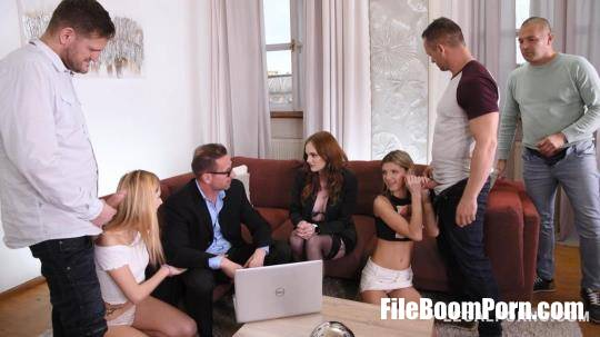 LegalPorno: Gina Gerson, Carly Rae, Rebecca Volpetti, David Perry, Thomas Stone, Dorian Del Isla - Sex Teacher Carly Rae shows Gina Gerson Rebecca Volpetti how to Suck Fuck Hardcore FS038 [HD/720p/1008 MB]