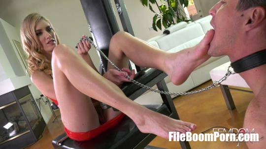 FemdomEmpire: Mazzy Grace - Foot Slave Forever [FullHD/1080p/1000 MB]