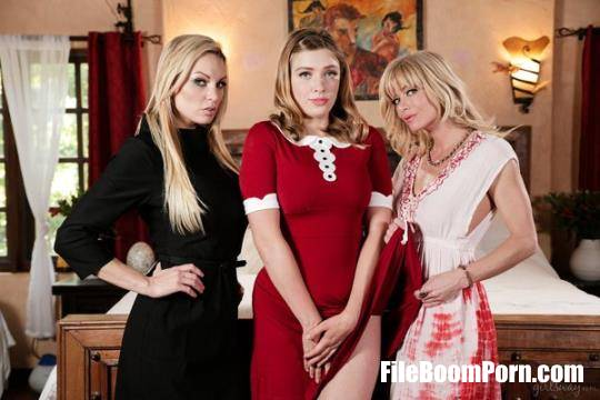 GirlsWay: Giselle Palmer, Kenzie Taylor, Serene Siren - Teen Witch: A Chilling Adventures Of Sabrina Parody, Scene #01 [FullHD/1080p/1.49 GB]