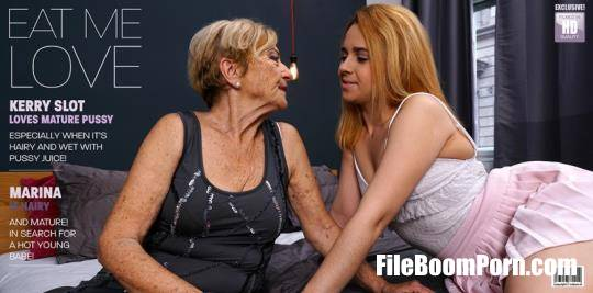 Mature.nl, Mature.eu: Karry Slot, Marina T - Lesbian mature cougar having her way with her way younger niece! [FullHD/1080p/1.77 GB]