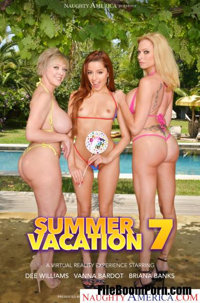 NaughtyAmericaVR: Briana Banks, Dee Williams, Vanna Bardot - Summer Vacation 7 [UltraHD 2K/2048p/12.3 GB]