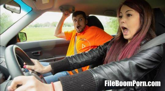 FakeDrivingSchool, FakeHub: Kristof Cale, Cindy Shine - Instructor licks cute learners ass [FullHD/1080p/2.26 GB]
