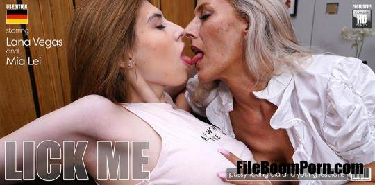 Mature.nl, Mature.eu: Lana Vegas, Mia Lei - Hot babe Mia Lei learns how to orgasm from German Milf Lana Vegas [FullHD/1080p/1.45 GB]