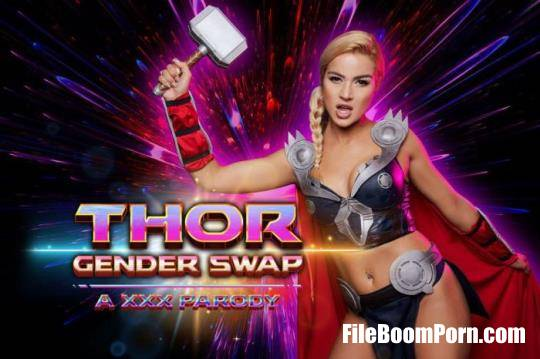 VRCosplayx: Cherry Kiss - Thor A Xxx Parody Gender Swap [UltraHD 4K/2700p/11.3 GB]