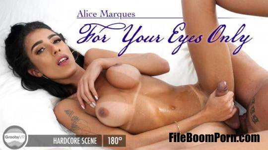 GroobyVR: Alice Marques - For Your Eyes Only [UltraHD 2K/1920p/7.66 GB]
