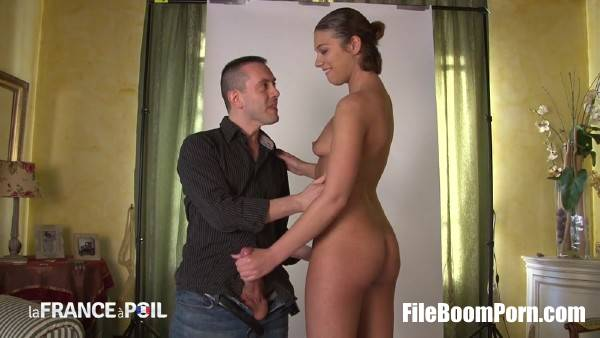 Stella Johanssen - Sexy brunette gets naked and fucks at photo shoot (HD/720p/863 MB) LaFranceaPoil