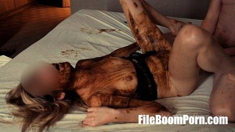 ScatShop: Heatherfly - Dirty hotelroom weekend with scat, piss and vomit [FullHD/1080p/1008 MB]