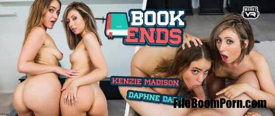 WankzVR: Daphne Dare, Kenzie Madison - Book Ends [FullHD/1080p/4.52 GB]