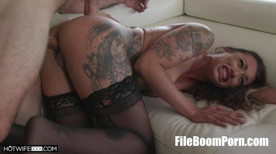 HotwifeXXX, NewSensations: Piper Cox - While He Watches [SD/480p/412 MB]