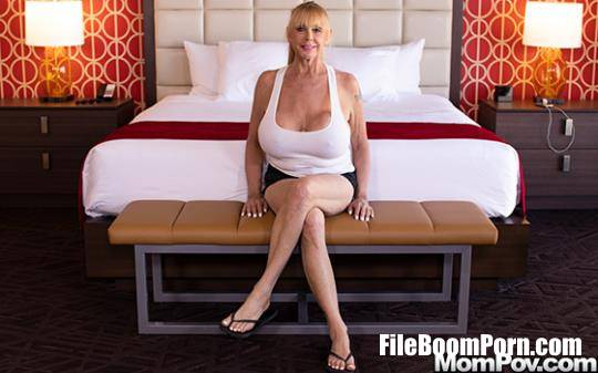 MomPov: Shelly - Blonde cougar with gigantic tits [FullHD/1080p/2.38 GB]