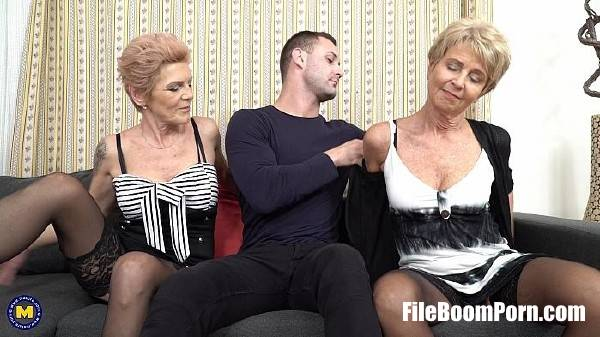 Irenka S. (60), Romana (69) - Two naughty mature stepsisters trick a younger dude into a heavy hard threesome (FullHD/1080p/2.74 GB) Mature.nl