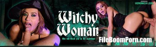 DDFNetworkVR: Veronica Leal - Squirting Anal Witch Hunter [UltraHD 2K/1920p/7.25 GB]