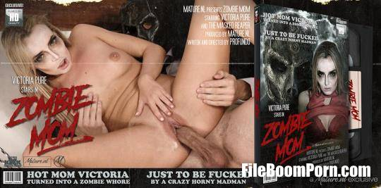 Mature.nl, Mature.eu: Victoria Pure - Hot mom turning into a zombie mom and fucking a masked madman [FullHD/1080p/1.27 GB]