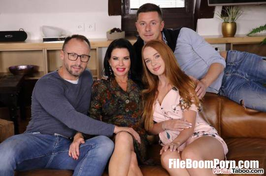 VirtualTaboo: Kaisa Nord, Veronica Avluv - Our Family Rules: First Cum, First Served [UltraHD 2K/1440p/5.45 GB]