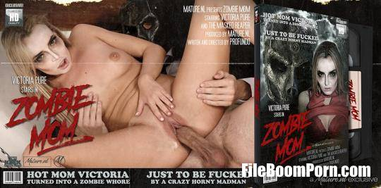 Mature.nl: Victoria Pure (31) - Hot mom turning into a zombie mom and fucking a masked madman [SD/540p/299 MB]