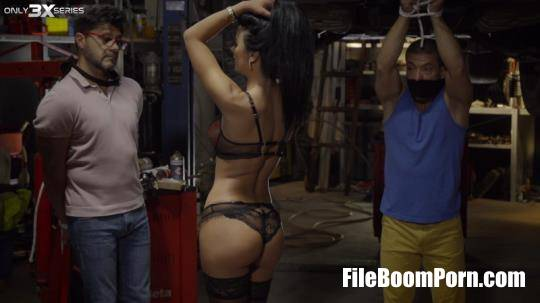 Only3x, Only3X Series: Shalina Devine - Dirty girl in a garage - Episode 8 [SD/480p/1016 MB]