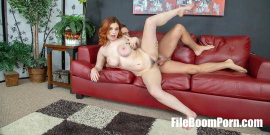 WildOnCam, CherryPimps: Annabel Redd - Voluptuous Redhead Annabel Red Loves Titty Fucking LIVE! [HD/720p/2.19 GB]
