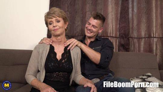 Romana (68) - Granny Romana loves dating younger men... and then some [FullHD/1080p/2.10 GB] Mature.nl