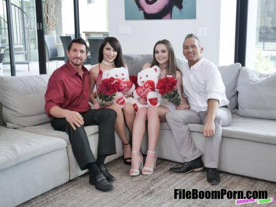 DaughterSwap, TeamSkeet: Hime Marie, Aften Opal - Valentines Day Daughter Orgy [SD/480p/457 MB]