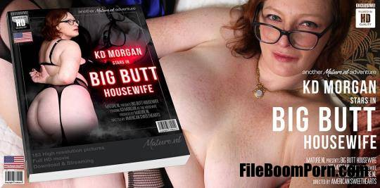 Mature.nl: KD Morgan (35) - Big butt housewife KD Morgan playing with her vibrator [FullHD/1080p/2.12 GB]