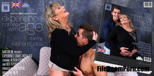 Mature.nl: Alisha Rydes (EU) (59) - She licks the cum from her toyboy straight from her big tits [SD/480p/381 MB]