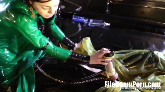 Rubber-Empire: Lady Ashley, Slave - Part 3 The Rubber Room [HD/720p/876.17 MB]