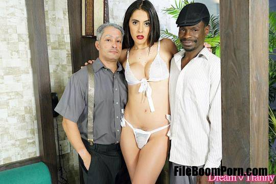 DreamTranny: Mariana Lins - Asked To Be DAP'd Again [FullHD/1080p/1.30 GB]